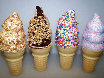 Ice Cream Cone Menu Macomb County Lori S Lick Em Up