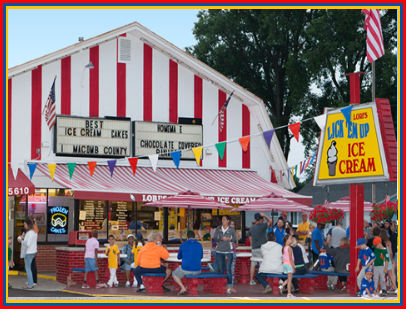Lori's Ice Cream Shop Harrison Township